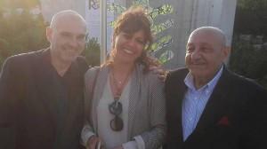 Roberto Ronca, yajaira Pirela e Alfredo Avagliano